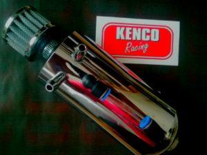 Kenco Bonnet Pin Kit Black