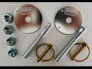 Kenco Bonnet Pin Silver