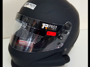 Snell 2015 Helmet Flat Black Side Air