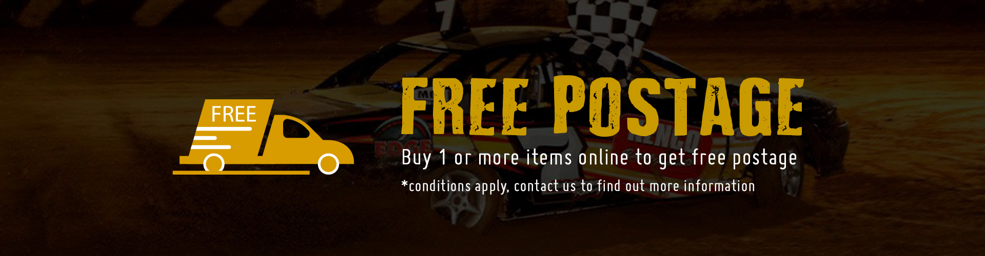 Free Post with Pro1 Race Speedway Parts