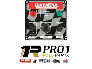 Quickcar Panel 2 Switch with Push Button Starter
