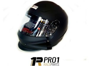 Helmet Black Side Air Snell 2020