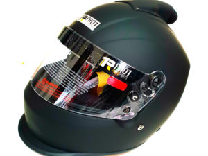 Snell Helmet Top Air Flat Black Drag Speedway