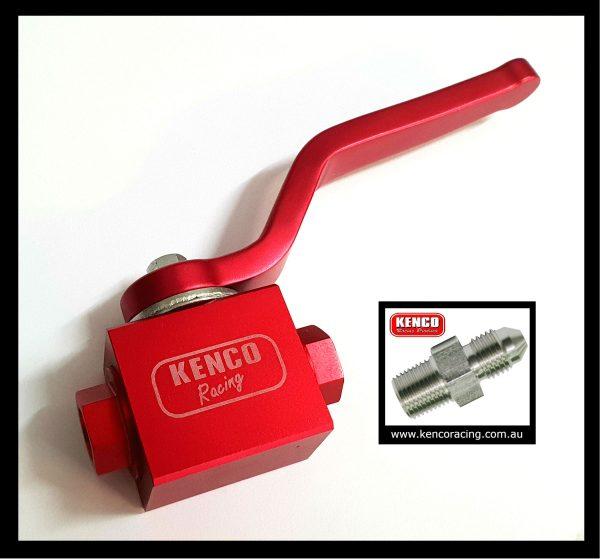 Kenco Brake Tap w AN3 fittings