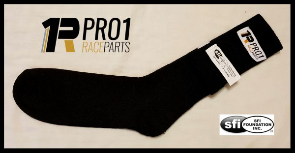 Sfi 3.3 Race Socks Black