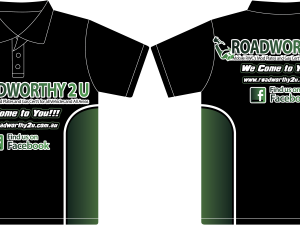 Custom fully sublimated T shirt 3