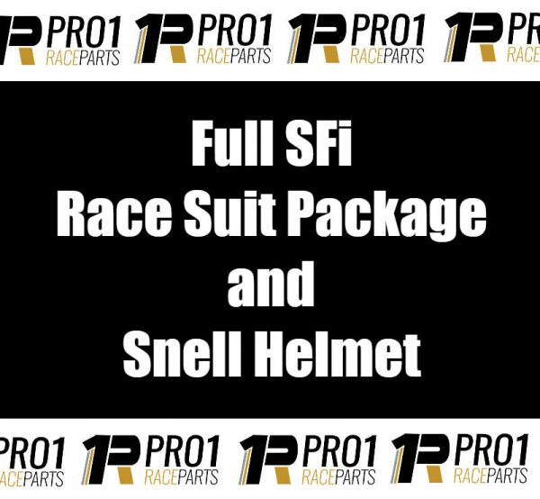 SFI Race Suit Package and Snell Helmet