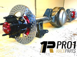 Full Cambered Floating Billet Axle and Hub Kit - Fitted to Diff